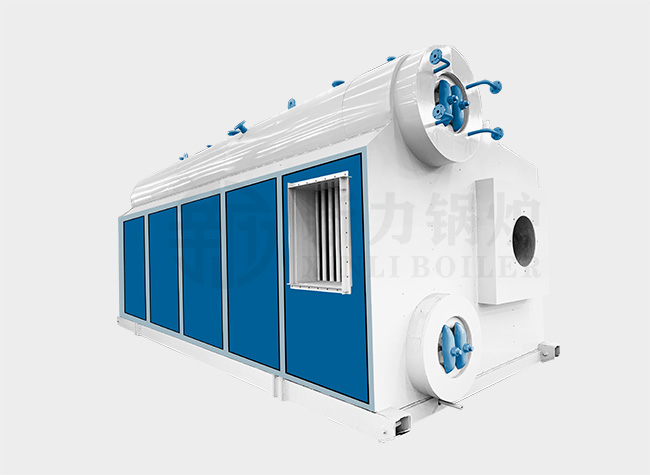 SZS Natural Gas Water Tube Steam Boiler
